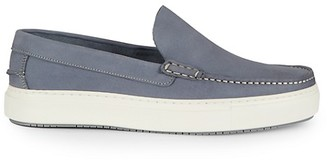 Aquatalia Sergio Weatherproof Suede Slip-On Sneakers