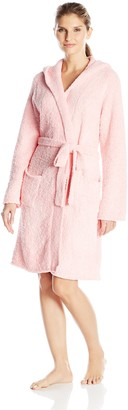 Ahh By Rhonda Shear Women's Marshmallow Hooded Robe