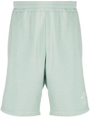 Stella McCartney Logo-Print Track Shorts