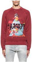DSQUARED2 Red Classic Raglan Sweatshirt