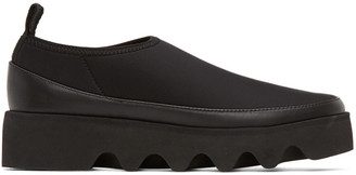 Issey Miyake Black United Nude Edition Bounce Sneakers