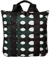 Marni Printed Nylon Shopper Handbags