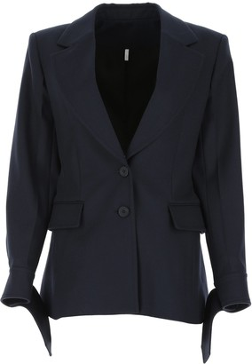 Chloé Single-Breasted Tailored Blazer