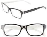 Corinne McCormack Women's 'Jess' 52Mm Reading Glasses - Black/ White