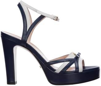 Gucci Double G Two-Tone Platform Sandals