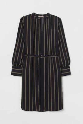 H&M H&M+ Dress with Belt - Black