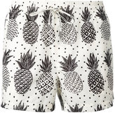 Dolce & Gabbana pineapple print swim shorts - men - Polyester - L