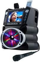 Karaoke Usa Karaoke USA Bluetooth Karaoke System with CD, DVD, MP3-G & LED Sync Lights