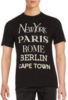 Eleven Paris Cotton Short Sleeve T-Shirt