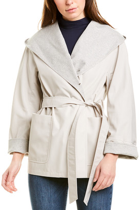 Cinzia Rocca Icons Short Trench Coat