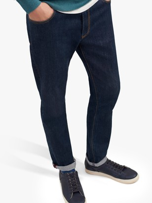 Joules 5 Pocket Slim Fit Jeans, Blue Denim