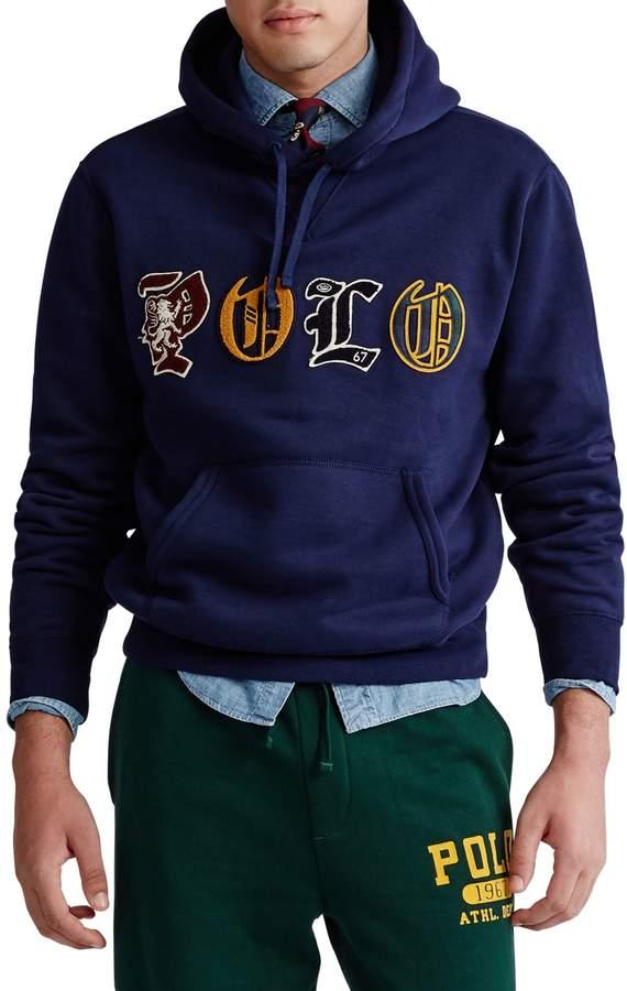 Polo Ralph Lauren Logo Cotton-Blend Fleece Hoodie