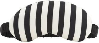 Morgan Lane Striped Silk Charmeuse Eye Mask