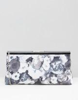 Lotus Floral Clutch Bag