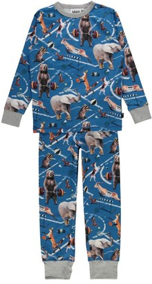 Molo Athletic Animals Tedo Pyjama Set (2-14 Years)