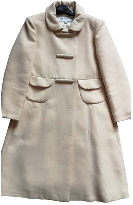 See by Chloe Ecru Wool Coat for Women