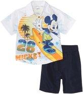 Disney Boys 2-7 Toddler 2 Piece Mickey Short Set