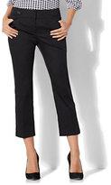 New York & Co. 7th Avenue Pant - Crop Straight Leg - Modern - Black