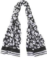 Joe Fresh Women's Print Sarong, Black (Size O/S)