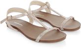 Monsoon Sally T Bar Sparkle Sandal