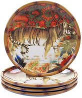 Tracy Porter Imperial Bengal 4-pc. Dessert Plate Set