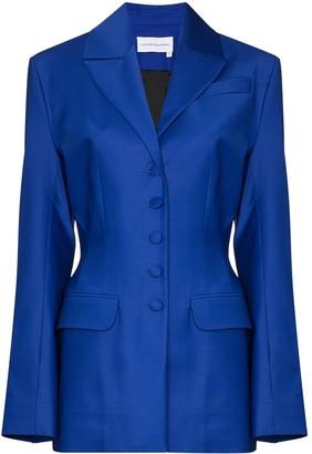 ALEKSANDRE AKHALKATSISHVILI Single-Breasted Blazer Jacket