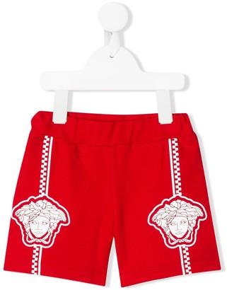 Versace Medusa print shorts