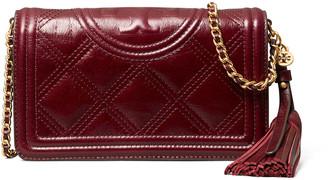 Tory Burch Fleming Soft Glazed Wallet Crossbody Bag