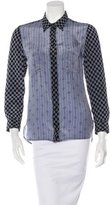 Isabel Marant Silk Button-Up Top