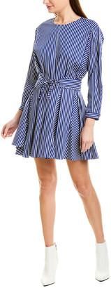 Derek Lam 10 Crosby Striped Shift Dress