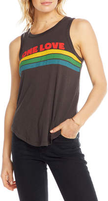 Chaser One Love Graphic Tank Top