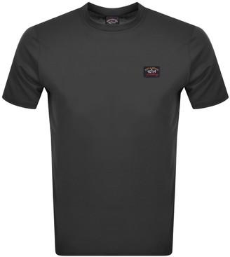 Paul & Shark Paul And Shark Short Sleeved Logo T Shirt Grey