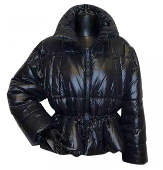 MSGM Black Coat for Women