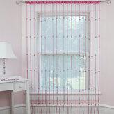 Bed Bath & Beyond Heartbeat Jewelry Rod Pocket Window Curtain Panels