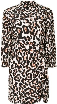 Baum und Pferdgarten Aaliah leopard print dress