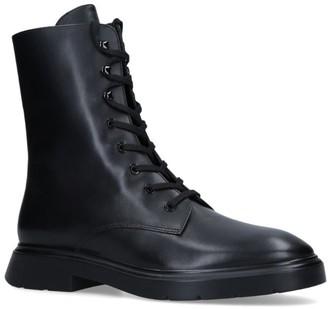 Stuart Weitzman Leather McKenzee Biker Boots