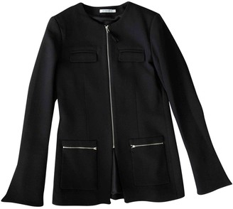 Protagonist Black Wool Jacket for Women