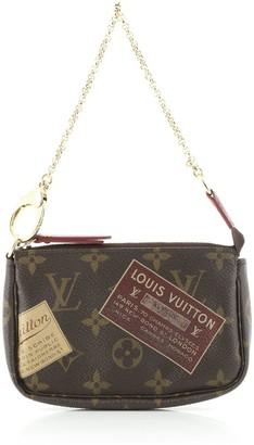 Louis Vuitton Pochette Accessoires Limited Edition Monogram Canvas Mini