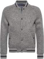 Tommy Hilfiger Men's Wool Jersey Bonded Baseball Jacket