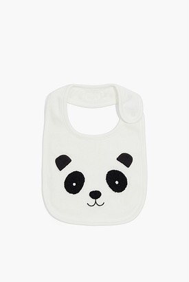Country Road Organically Grown Cotton Panda Face Bib