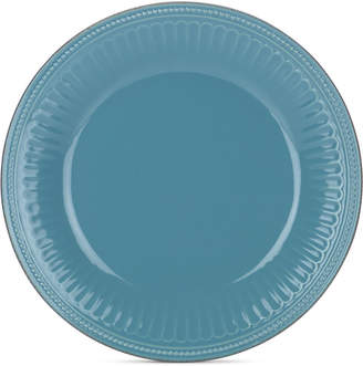 Lenox Stoneware French Perle Groove Bluebell Dinner Plate