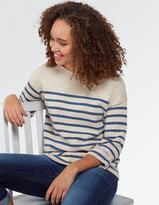 Fat Face Stripe Breton Jumper