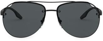Prada 61MM Pilot Sunglasses