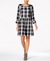 Sanctuary Camille Plaid Fit & Flare Dress