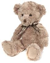 Suki Gifts Bear from the Past Harry Soft Plush Traditional Bear (Large, Oatmeal with Plaid Ribbon)