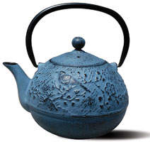Old Dutch International Suzume Cast Iron Tetsubin Teapot
