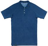 Denham Joey Indigo Polo Shirt, Indigo