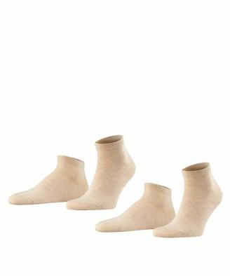 Falke Men Happy 2-Pack Trainer Socks - 85% Cotton