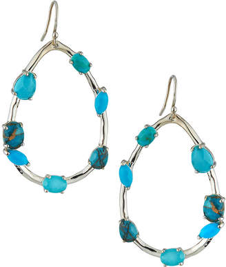 Ippolita Rock Candy Large Pear-Shaped Earrings with Mixed Stones in Turquoise