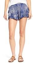 Rip Curl 'Dakota Rose' Print Woven Shorts